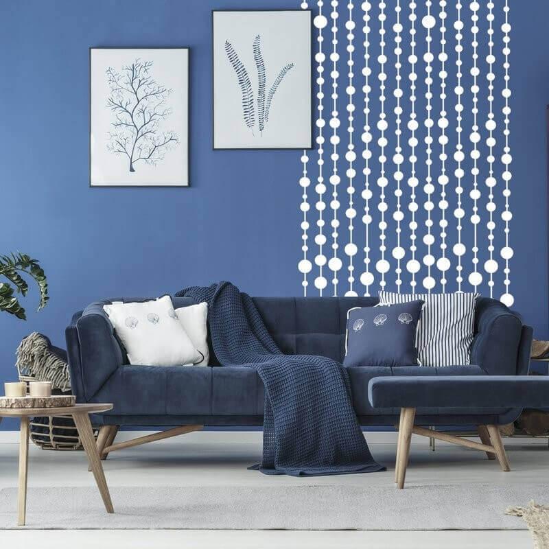 Geometrische Schablone Fur Eine Schone Moderne Wand Inspio 5